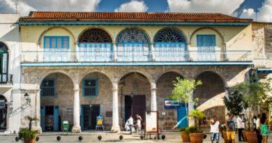 Casa de los Condes de Jaruco, en la Plaza Vieja , La Habana