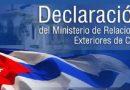 Condena firme y absoluta a la fraudulenta calificación de Cuba como Estado patrocinador del terrorismo