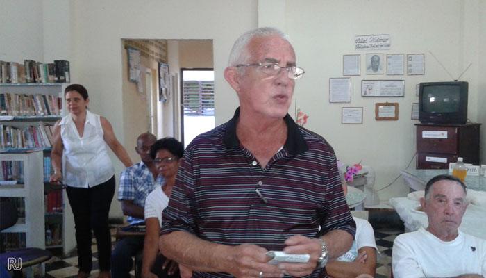 escritor e investigador jaruqueño Germán Bode