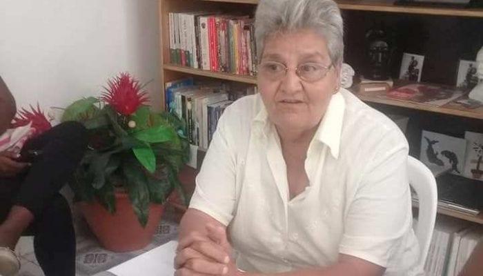 Carmen Páez LLerena, presidente de la ANEC en Jaruco.. Foto Marlene Caboverde