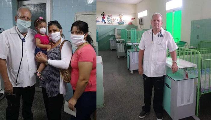 Doctor jaruqueño Roberto Valdés García