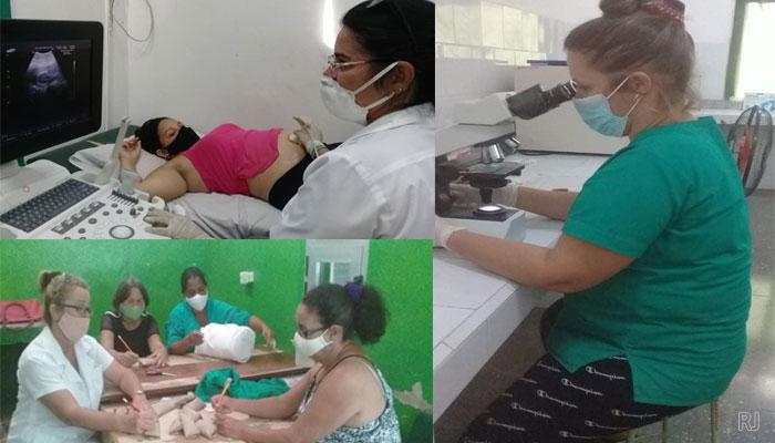 Mantiene #Jaruco, vitalidad servicios de Urgencia y Emergencia médica en fase de alerta ciclónica. Fotos Ofelia Delgado Padrón