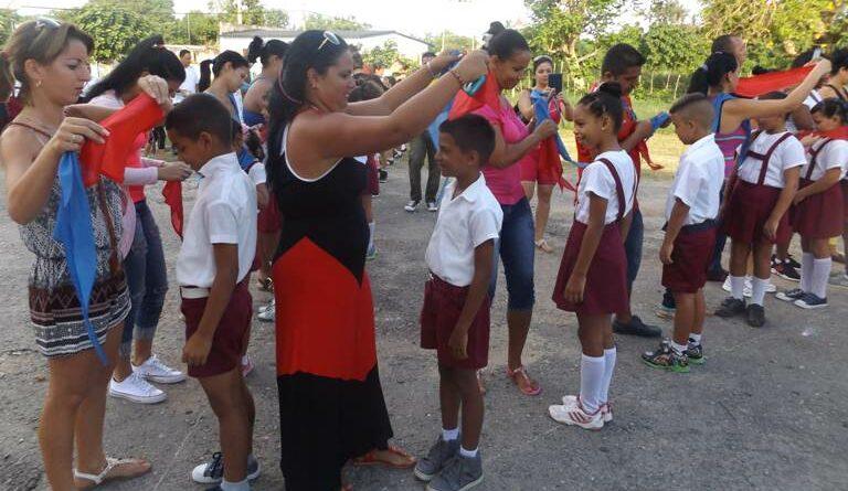 Recibirán la pañoleta roja más de 270 pioneros de Jaruco