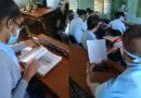 Toman el pulso a preparación para exámenes de ingreso a la Educación Superior, en #Jaruco.