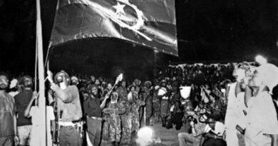 Proclamación de la República Popular de Angola. Foto: Archivo