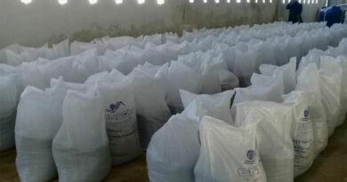 Producidas diez toneladas de agromena en Planta de minerales, de #Jaruco. Marlene Caboverde.