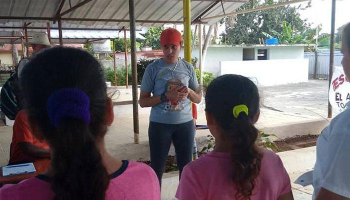 La jaruqueña Aidys Márquez, gloria del deporte cubano. Foto Yuniel Rodriguez