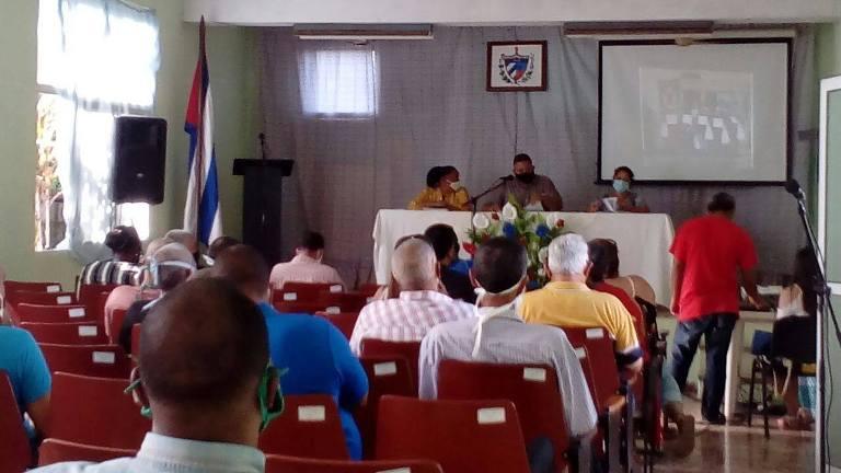 Reconocen en Jaruco a Direcciones y Concejos Populares en el enfrentamiento a la Covid 19.. Foto Anelis Díaz