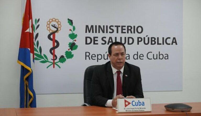 Ministro de Salud Pública. Foto Tomada de Radio Taino