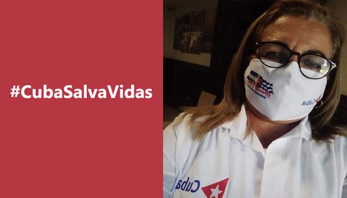 Licenciada en enfermería Migdalia Rodríguez Conde