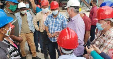 Encabeza Díaz-Canel visita gubernamental a Matanzas. Foto tomada de Presidencia Cuba