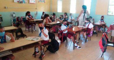 Escuela Primaria América Latina. Foto: Yordan Díaz