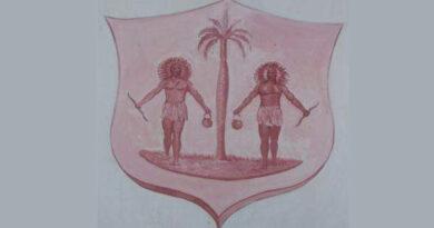 Escudo de la Ciudad Condal de Jaruco. Foto tomada del Museo Municipal