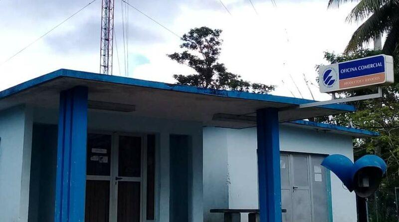 Empresa de Telecomunicaciones en Jaruco. Foto Yordan Díaz