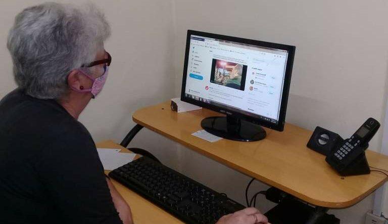 Silvia González jefa del Depamento Informativo de Radio Jaruco. Foto Yordan Díaz