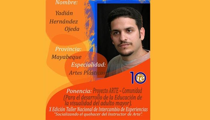 Otorgan a instructor de arte de Jaruco, Premio Nacional de Investigación Sociocultural y Nuevas Tecnologías