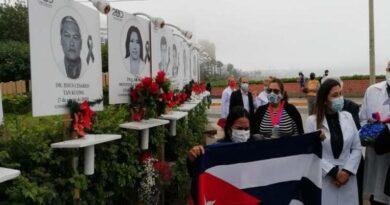 Los médicos cubanos asistieron a Perú en su lucha contra la COVID-19. Foto: ACN