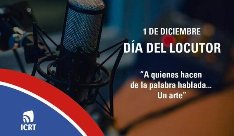 Dia del locutor cubano
