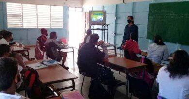 Priorizan labor de formación vocacional en escuelas de Jaruco. Foto Yordan Díaz
