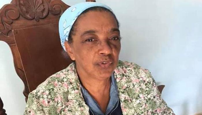 Leticia Díaz, una mujer que tuvo la responsabilidad de dirigir la institución docente. Foto Yainely Guerra