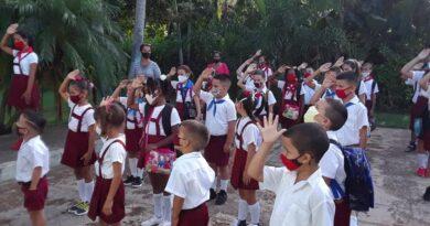 Escuela de Mendoza en Jaruco . Foto Marlene Caboverde