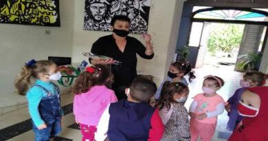 Mary volvió al encuentro con los niños. Foto cortesía del Programa Educa a tu Hijo.
