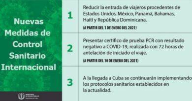 Cuba suma nuevas medidas para la llegada de viajeros del exterior Foto: Minsap