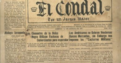 """periódico """"El Condal"""". Foto colaboración del Museo Municipal"""
