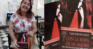 Taimi Dieguez Mallo, escritora de Jaruco. Foto Yuniel Rodriguez