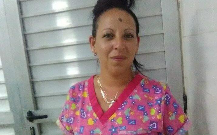La enfermera de Caraballo Yutmila Padrón Rodríguez forma parte de la brigada médica que viajó a México
