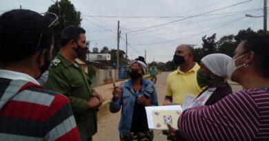 Decretan restricción de movimiento en comunidad y asentamiento de Bainoa en Jaruco. Foto Anelis Díaz
