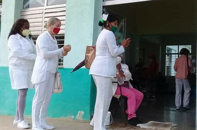 Refuerza #Jaruco, control epidemiológico ante rebrote del coronavirus en #Mayabeque.. Foto Marlene Caboverde.