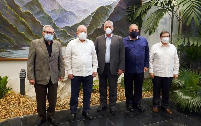 Sostienen Raúl y Díaz-Canel encuentro con Lula. Foto Estudios Revolución