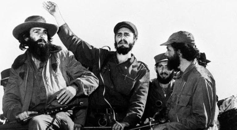 Entrada de Fidel a la Habana. Foto tomada de Periodico Granma