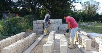 Materiales de la construción en Jaruco. Foto Marlene Caboverde