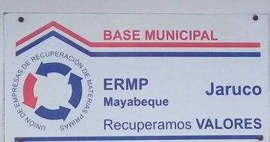 Empresa Recuperadora de Materias Primas en Jaruco