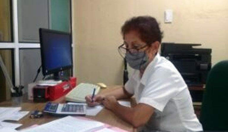 Directora del Banco Popular de Ahorro en Jaruco