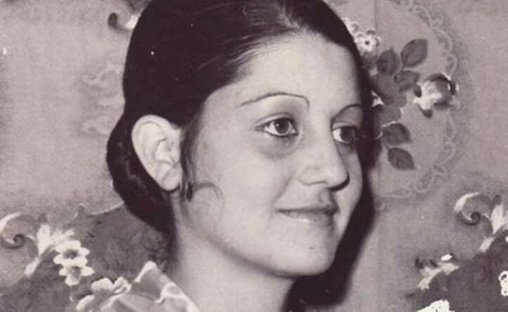 Locutora Irayda Mesa. Foto Archivo de Radio Jaruco