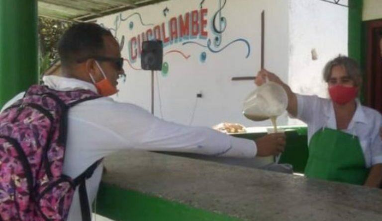 Guarapera ubicada en la Plaza Comercial El Agricultor. Gisselle Alpizar