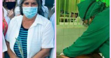 Homenaje a la pediatra de Jaruco, Juana Milagros González García.