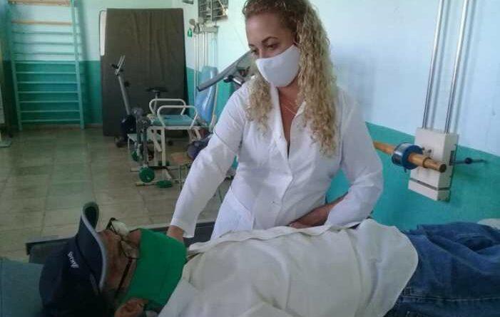 Sala de Rehabilitación de Jaruco. Foto Marlene Caboverde