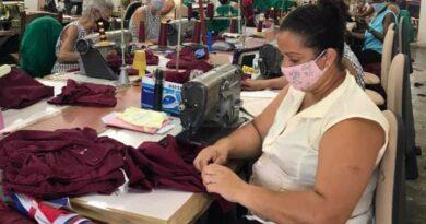 Taller Textil de Jaruco. Foto Yainely Guerra
