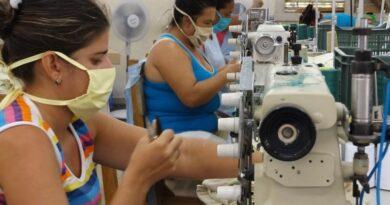 Talleres de confecciones textiles de Tumba Cuatro, en Jaruco . Foto Anelis Díaz