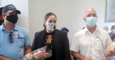 Distinguen a trabajadores del Centro de Telecomunicaciones Internacionales de #Jaruco.