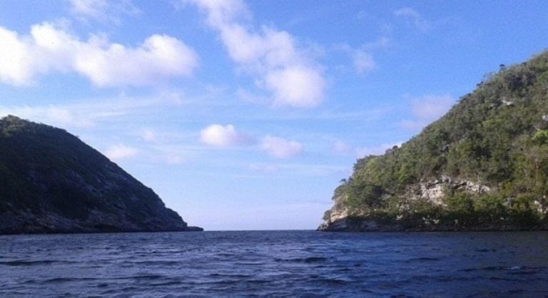 Boca de Canasí, área protegida en la provincia. Foto. Archivo