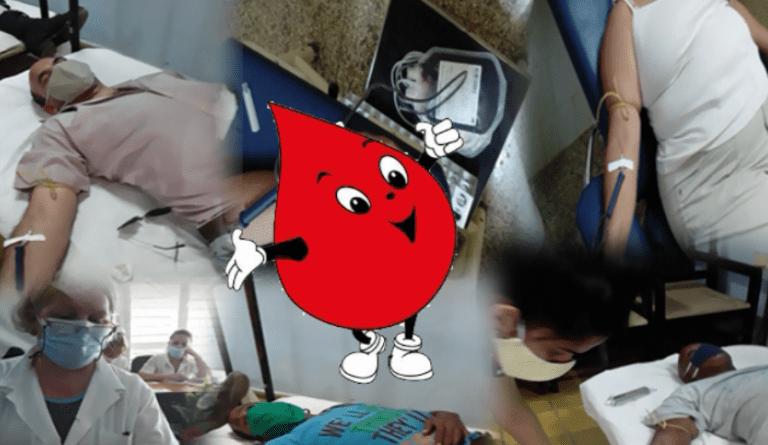 Cumple Jaruco plan de donaciones voluntarias de sangre en el mes de abril. Foto Radio Jaruco.