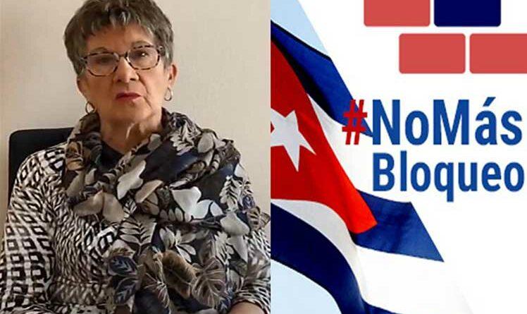 Senadora francesa insta a Biden a levantar bloqueo contra Cuba