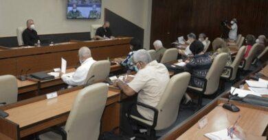 Grupo temporal de trabajo para la prevención y control del nuevo coronavirus. Foto: Estudios Revolución.