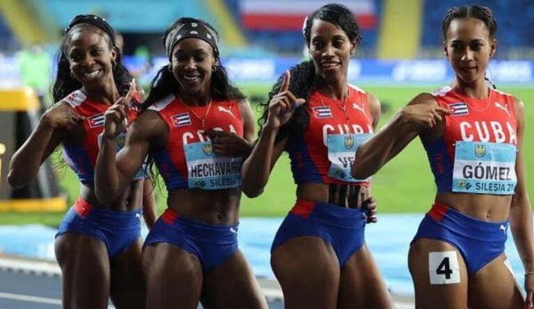 Las cubanas clasificaron para los Juegos Olímpicos de Tokio, y se proclamaron campeonas mundiales Foto: Desconocido