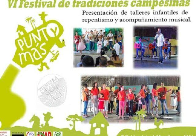 Niños y jóvenes protagonizarán Festival de Tradiciones Campesinas. Foto: Archivo.